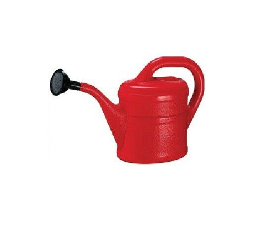 Childrens / Kids Watering Can - Indoor and Outdoor Use - 1L - Red