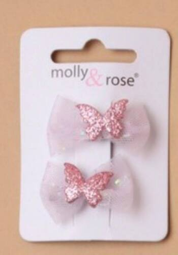 Girls Glitter Butterfly Hairclip Kids Gift Accessories Toddler Hair Clip