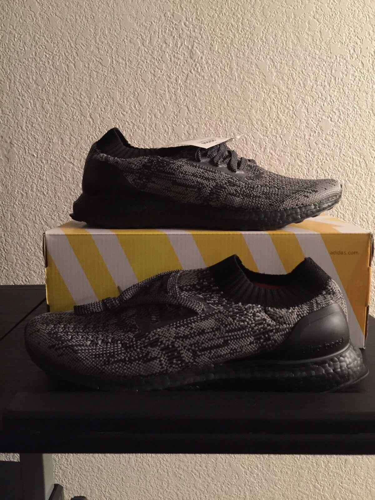 New 2016 Adidas Ultra Boost Uncaged LTD Men Black BB4679 Size 9.5