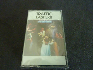 TRAFFIC-LAST-EXIT-ULTRA-RARE-NEW-SEALED-CASSETTE-TAPE