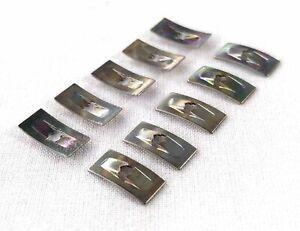 FORD FALCON FAIRMONT FAIRLANE ZA ZB ZC ZD ZF ZH ZJ BADGE CLIPS SMALL 3mm 10PCS