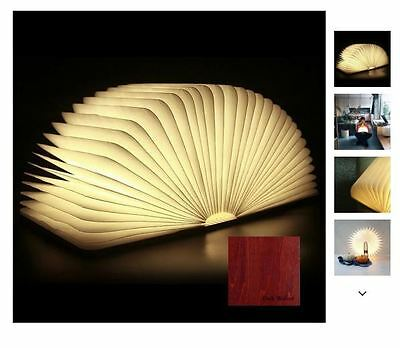 Luminate LED Folding Wooden Light Book Lamp Award Winning Design