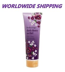 Bodycology-Dark-Cherry-Orchid-Body-Cream-8-Oz-WORLDWIDE-SHIPPING