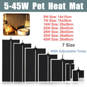 Adjustable-Reptile-Vivarium-Heat-Mats-Heating-5-7-14-20-28-35-and-45w