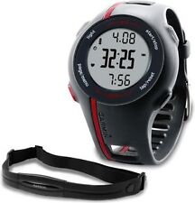 *NEW* GARMIN Forerunner 110 GPS Mens Heart Rate Monitor Watch Speed/Distance