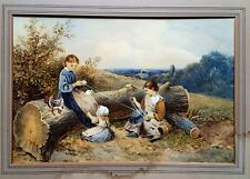 MYLES BIRKET FOSTER FINE QUALITY 19th CENTURY WATERCOLOUR