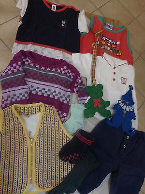 10- Teiliges Kinderbekleidungspaket Größe 62-80 Holzspielzeug, Dekoration, H&m, Reine WeißE