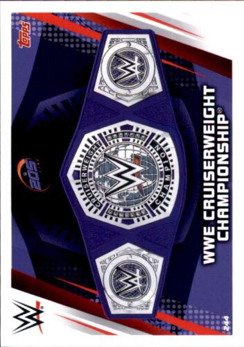 WWE Slam Attax 12 Universe Karte 244 WWE Cruiserweight  Championship