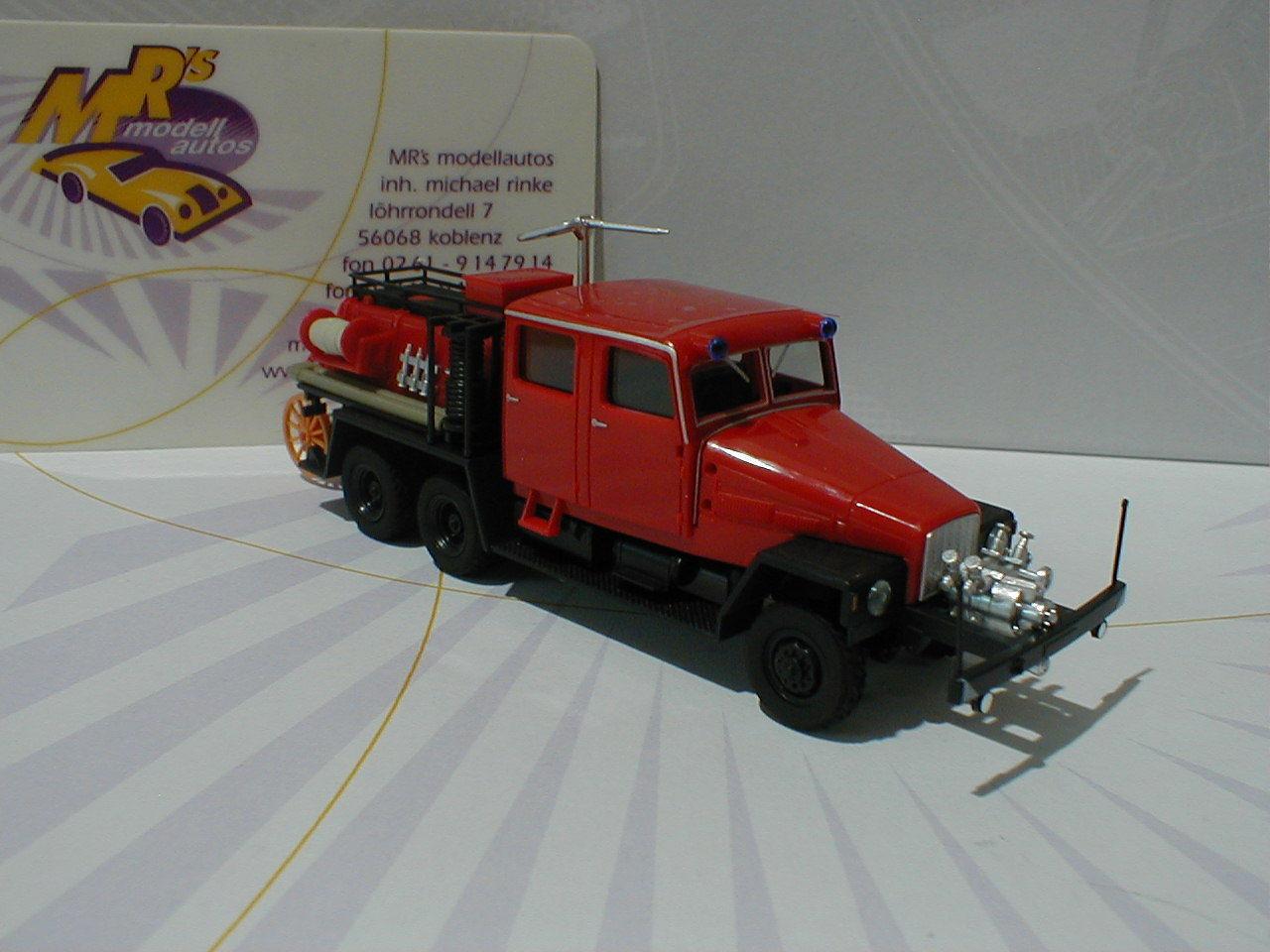 HERPA 049900-IFA g5 tanklöschfahrzeug  pompiers  1 87 Nouveauté