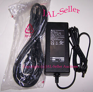 12v dc 2a delta power supply 100 240 ac adapter 12 volt 2 amp brand new ebay. Black Bedroom Furniture Sets. Home Design Ideas