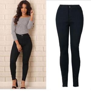 6333de0613a Sexy Women Pencil Stretch Casual Denim Skinny Jeans Pants High Waist ...
