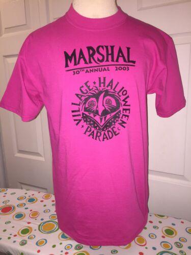 NYC Village Halloween Parade MARSHAL T-shirt *Vint