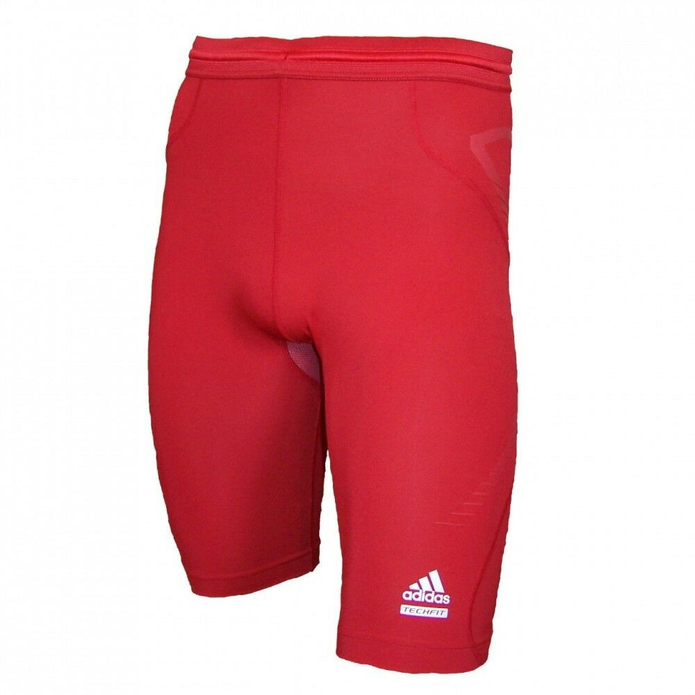 Adidas Techfit Prepare Laufshort Fitnessshort Runningtight Short Tight rot  | Shop