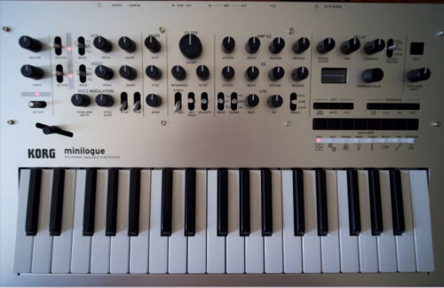 333 New and Original Korg Minilogue patches