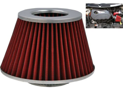 Red Grey Induction Kit Cone Air Filter Renault Clio 1998-2016