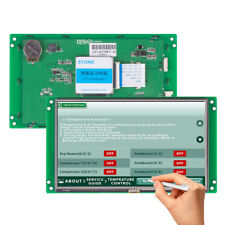 7 Hmi Tft Lcd With Touch Controller For Machinery Use Lcd Display Screen