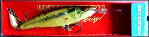 UGLY DUCKLING DEEP RUNNER JOINTED 12,5 cm, 17 g BASS CHA color