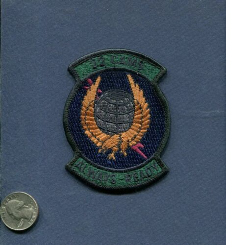 22nd CAMS USAF MAINTENANCE SQUADRON PATCH