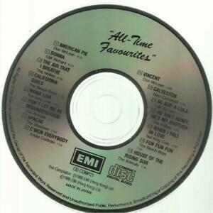 二手 早期日本版 CD冇花 非常靚聲 ALL TIME FAVOURITES DON MCLEAN American Pie Vincent