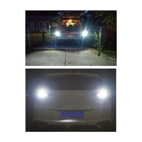 LASFIT 1156 BA15S P21W Bright White 6000K LED Backup Reverse Lights Error Free