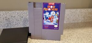 Snow-Brothers-Bros-Nintendo-NES-Video-Game-Cartridge-Capcom-AUTHENTIC-lot