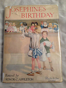 Josephine's Birthday 1920s Beliebte Marke Mrs H C Cradock / Honor C Appleton In Jacket