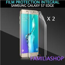 Lot de 2 Films Protection Entier Pour Écran Incurvé Pour Samsung Galaxy S7 Edge