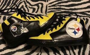 a9fa6411a26 Converse Wiz Khalifa All-Star Black And Yellow Pittsburgh Steelers ...
