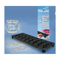 Mustache Ice Cube Mold - Stache Ice Tray -8 Mustaches- Use With Jello Too-