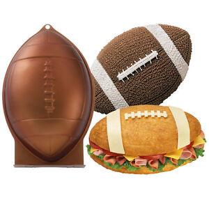 Wilton First N Ten Football Cake Pan 21056504 NEW 3D 689853186569
