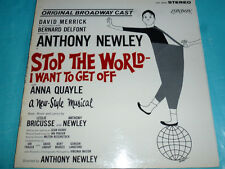 Anthony Newley - Stop The World, I Want To Get Off LP