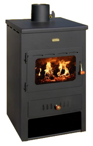 kaminofen holzofen warmwasserboiler modern prity k1w8 bimschvii 8 4 kw ebay. Black Bedroom Furniture Sets. Home Design Ideas