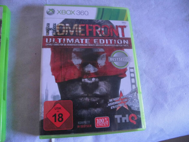 Xbox 360 Spiel Homefront Ultimate Edition 100% uncut USK ab 18 4012160020893 top