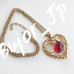 f5233f7ac20 Image is loading VINTAGE-YSL-YVES-SAINT-LAURENT-NECKLACE-OPEN-WORK-
