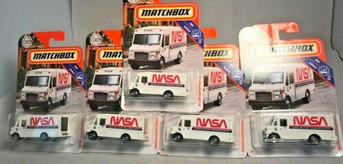 2019 Matchbox NASA Mission Support Vehicle 88//100 MBX Service 18//20 Lot of 5