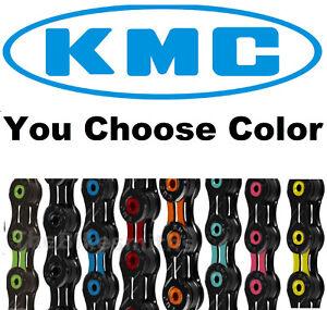 KMC-X11SL-DLC-ASSORTD-COLORS-11-Speed-Road-CX-Bike-Chain-fits-SRAM-Shimano-Campy