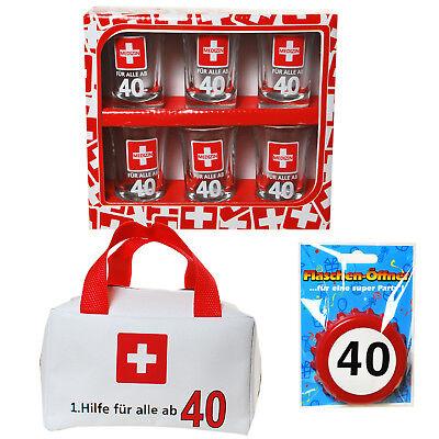 Geschenkset Geschenkidee Geschenke zum 40. Geburtstag 1