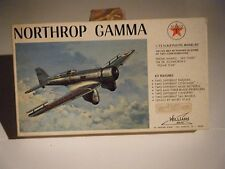 CLASSIC WILLIAMS BROS 1/72 sc 1930's NORTHROP GAMMA High-Speed Racer Model Kit