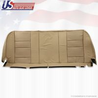 2002 - 2007 Ford F-250 F250 Lariat Rear Bottom Leather Bench Seat Cover Tan