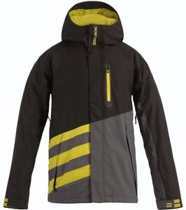 BILLABONG-Men-039-s-SLICE-Snow-Jacket-BLK-Large-NWT