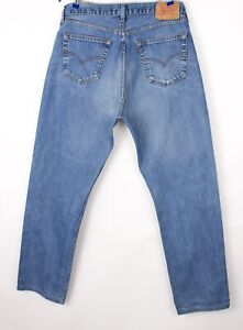 Levi's Strauss & Co Hommes 521 02 Slim Jeans Extensible Taille W38 L32 BBZ627