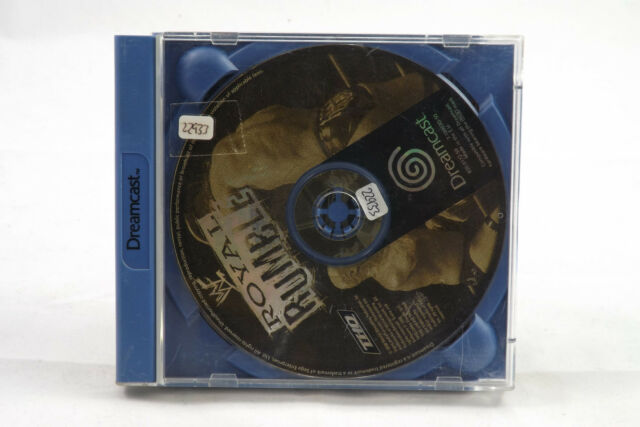 WWF Royal Rumble (Sega Dreamcast) Spiel in OVP, PAL, TOP, GUT