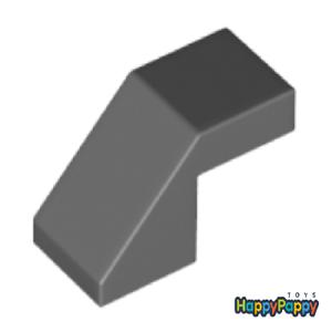 Lego 6x Schräg Stein 45 2 x 1 Dunkel Grau Dark Bluish Gray Slope 28192 Neu New