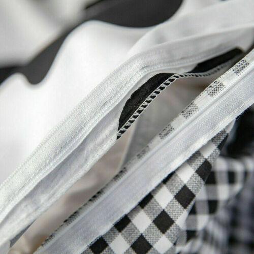 3 Pcs//Set Cow Print Bedding Sets Duvet Quilt Cover Set Double King All Size UK