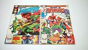 What-If-28-amp-29-Marvel-1981-FN-amp-VF-feat-Daredevil-Avengers