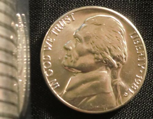 1981-D Denver  Mint Jefferson Nickel BU