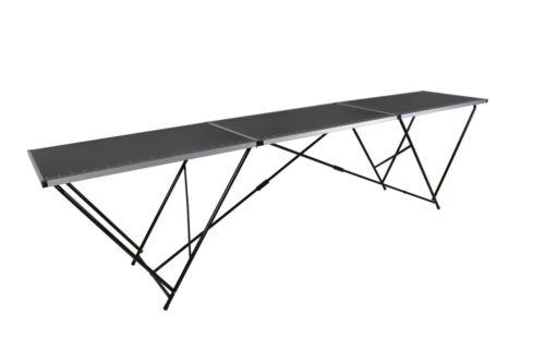 3 m mètre noir Aluminium table pliante pour Décoration Collage papier peint bricolage