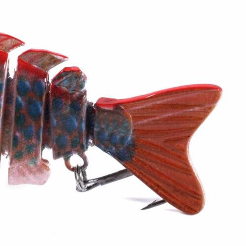 Multi Jointed Fishing Lures Sinking Wobblers Swimbait Hard Bait 1Pc Crankbait