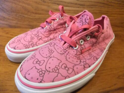 da 35 Size Kitty Canvas Uk 3 Pink Eu Vans Canvas Authentic Hello Scarpe ginnastica daxURdB