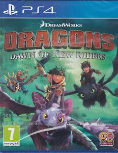 I-draghi-Dawn-of-NEW-RIDERS-PS4-Sigillato-Nuovo-di-zecca-e